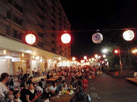 高幡台団地 夏祭り納涼大会 2010