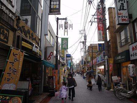 大岡山北口商店街