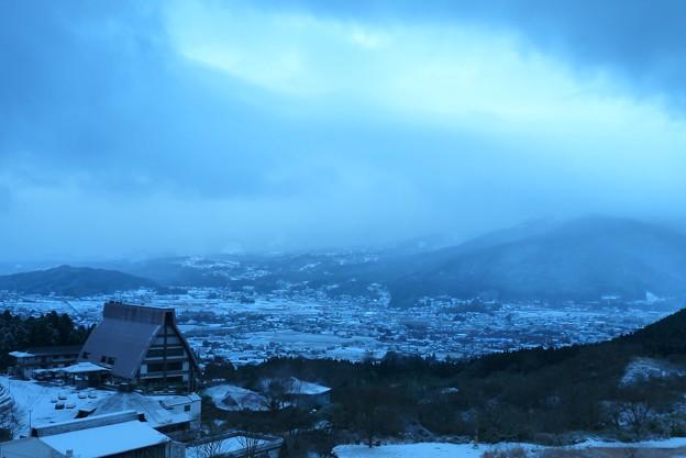 Photos: 雪に沈む湯布院