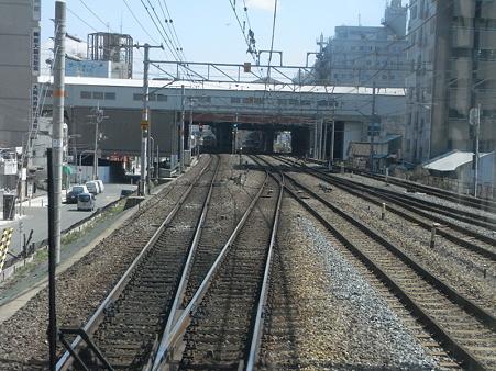 大阪環状線の車窓(弁天町→天王寺)7