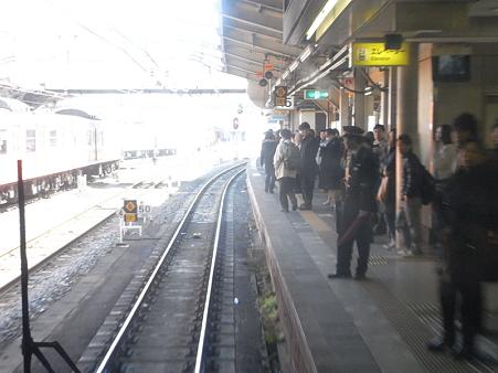 大阪環状線の車窓(弁天町→天王寺)12