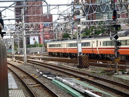485系(新宿駅)1