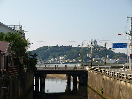 江ノ島→腰越の併用軌道区間30