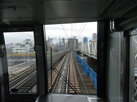 321系東海道本線の車窓(新大阪→大阪)5