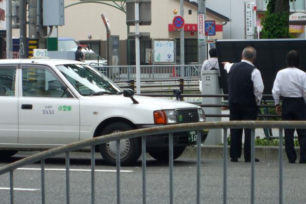 路上喫煙ひばりタクシー