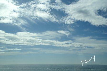 雲が素敵な日・・