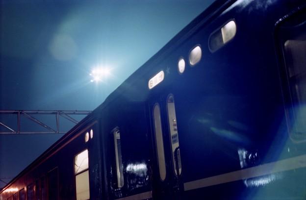 AS15s-急行だいせん、福知山駅で長時間停車