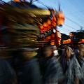 Photos: 夜の神輿が通り過ぎる!(100710)