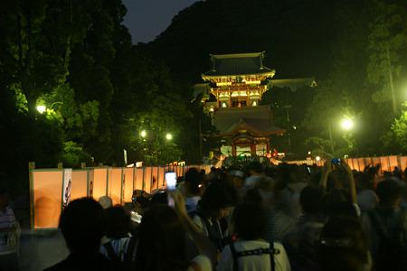 ぼんぼりまつり鎌倉!(110807)