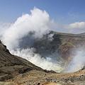 Photos: 100512-86九州ロングツーリング・阿蘇中岳噴火口15