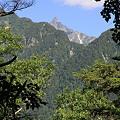 Photos: 100721-61振り返れば槍ヶ岳