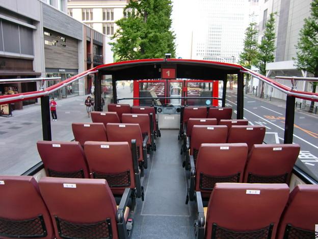 スカイバス東京 車内
