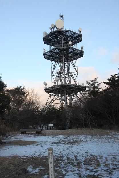 2011年1月1日今朝の山頂