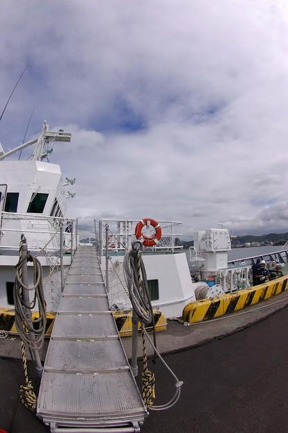 IMGP9948魚眼海の日SP巡視船くろかみ潜入記2