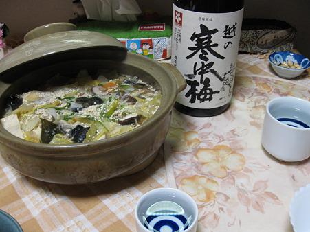 こういう場合はもちろん日本酒で
