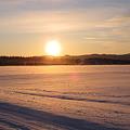 Photos: 雪原の朝