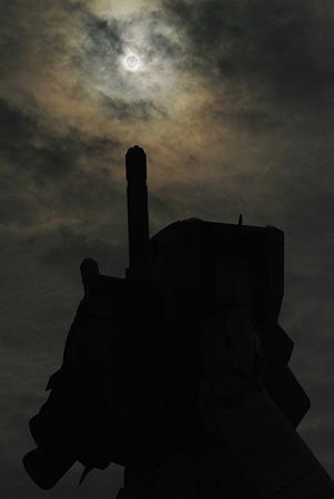 金環日食とガンダム