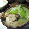 Photos: 追加した牡蠣鍋