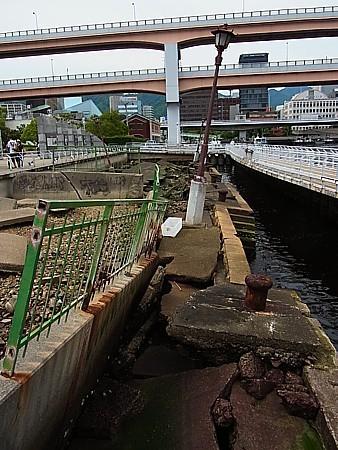 震災跡が保存