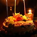 バースデーケーキ  3さい(*'-'*)
