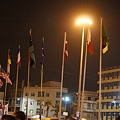 Photos: 反政府派を正式承認した国々の旗