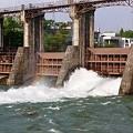 Photos: 神三ダムの放流 K25より