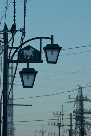 街灯マニア■馬のいる街灯