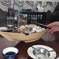 Photos: 大阪屋舟盛り